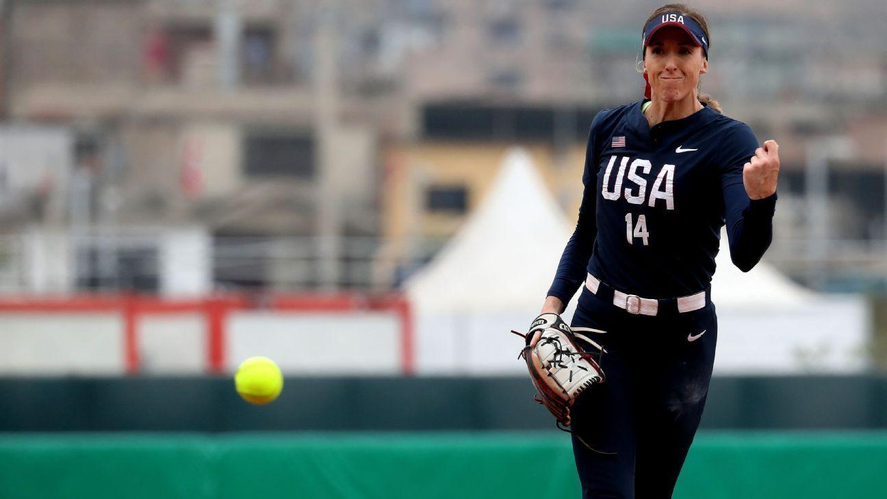 Mlb Plans To Sponsor U S Olympic Softball Team In 2020 Softball Team Women S Soccer Team Major League Baseball