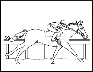 math coloring sheets horse breed descriptions - Horse Coloring Pages Toddlers