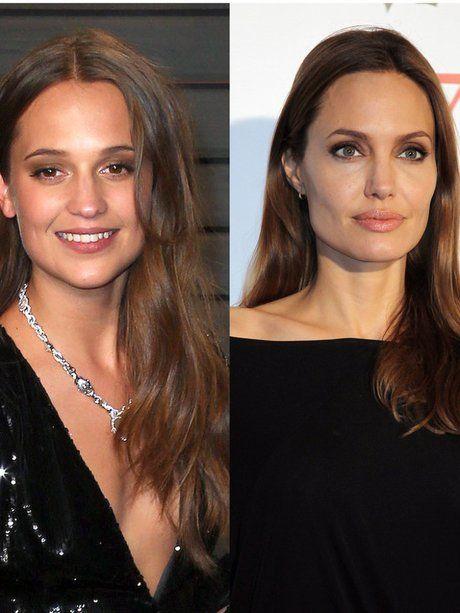Kann sie Angelina Jolie ersetzen? Alicia Vikander...