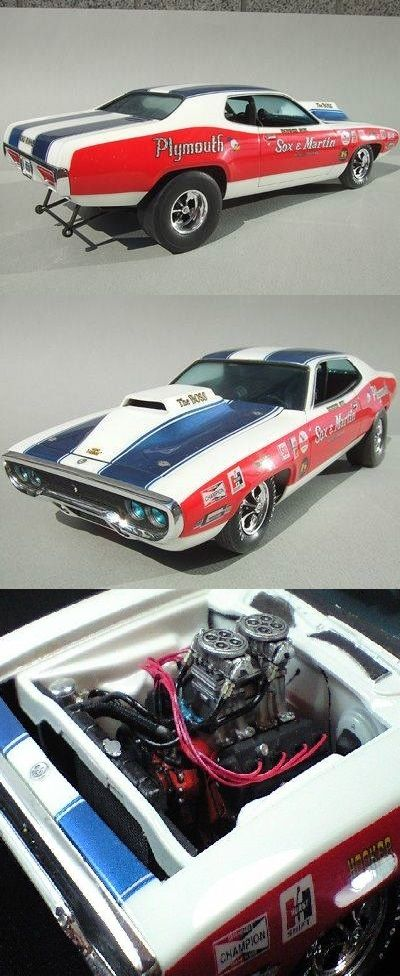 Sox Martin 1971 Or 72 Road Runner By Plymouth Car Model