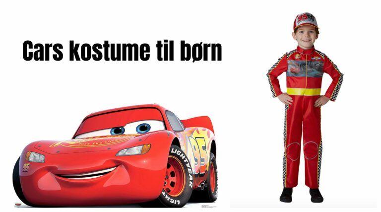 6a998a9abaef Cars kostume til børn