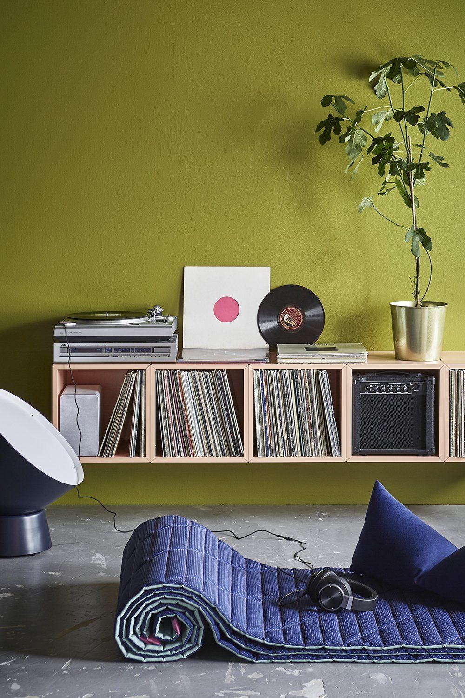 15 Meubles Malins Pour Ranger Vos Vinyles Rangement Vinyle Rangement Vinyle Ikea Meuble Vinyle