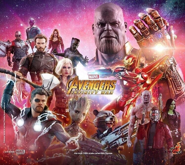 Hot Toys Official Avengers Infinity War Poster Avengers Infinity War Avengers Infinity War