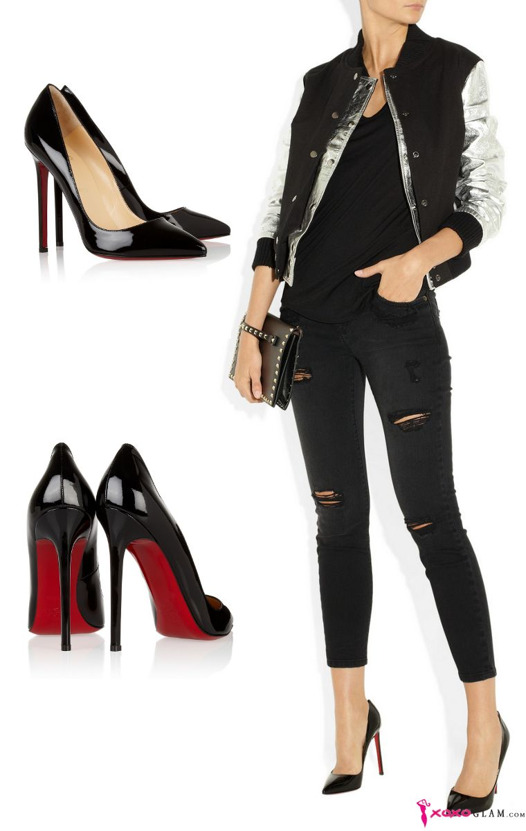 finest selection da4d9 feb5c classic louboutins - Google Search - rear view of heel ...