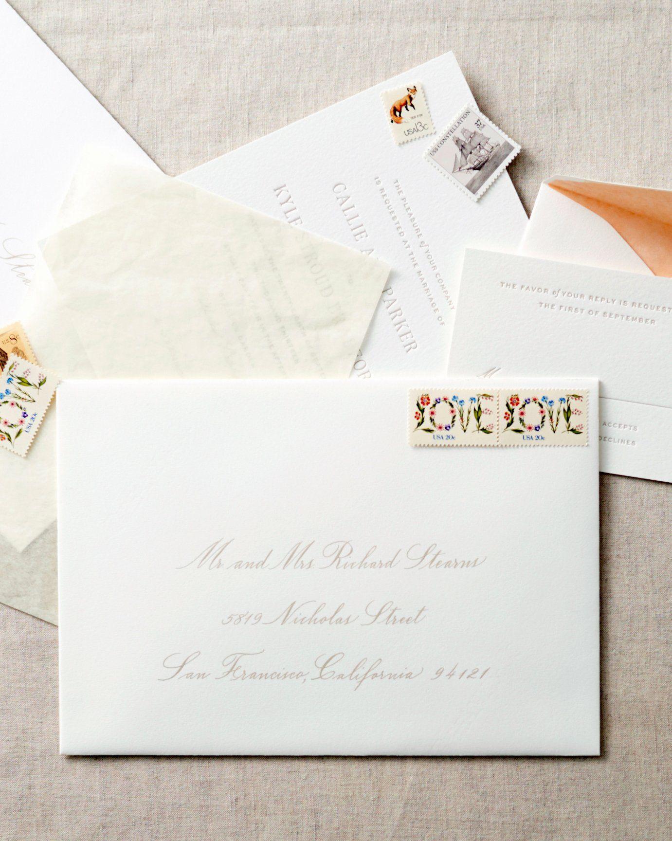 Wedding Invitation Inner Envelope Inspirational 10 Things You Shou In 2020 Hand Lettered Wedding Invitations Wedding Invitation Envelopes Wedding Reception Invitations