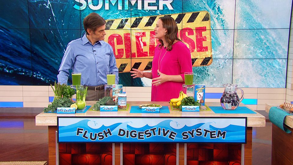 Dr oz reveals his 5day summer cleanse how to eat
