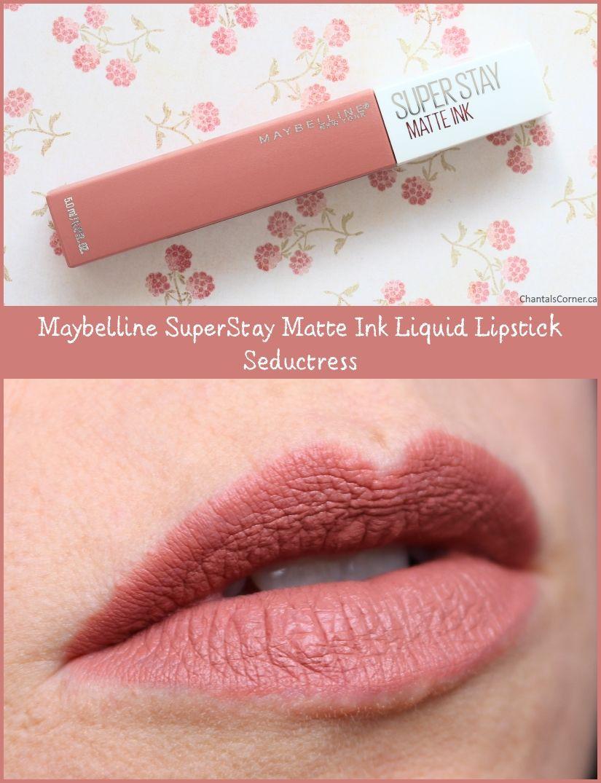 Maybelline Superstay Matte Ink Liquid Lipstick Seductress