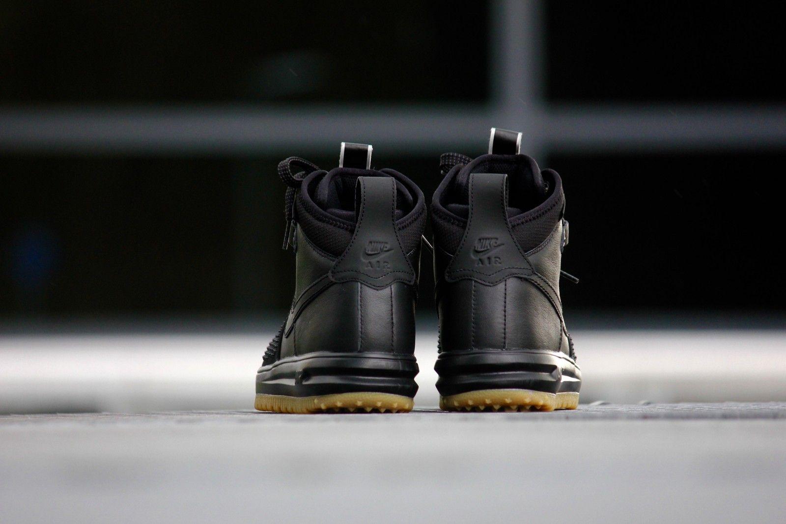 Nike Lunar Force 1 Duckboot Black-Black Gum - 805899-003