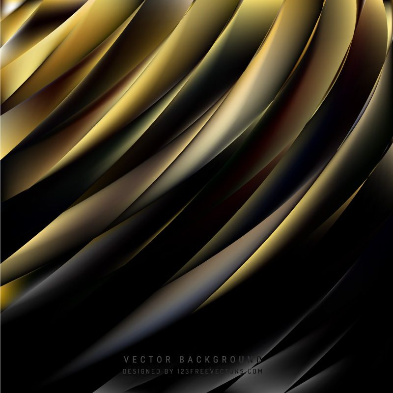 Abstract Black Gold Background Vector Gold Abstract Wallpaper Abstract Gold Background