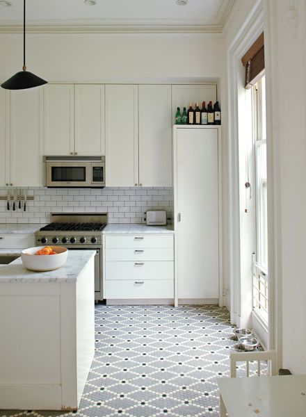newest trends in kitchen floor tile designs and patterns | Tile and ...