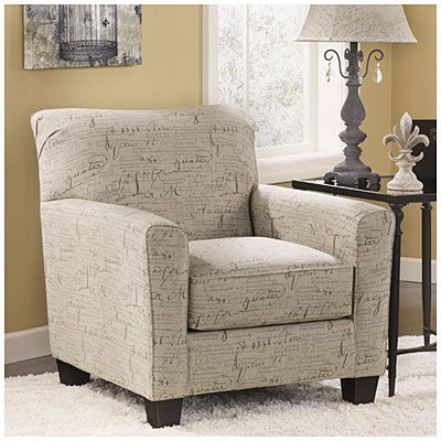 Signature Design By AshleyR Calligraphy Accent Chair At Big Lots Girl CaveLiving Room