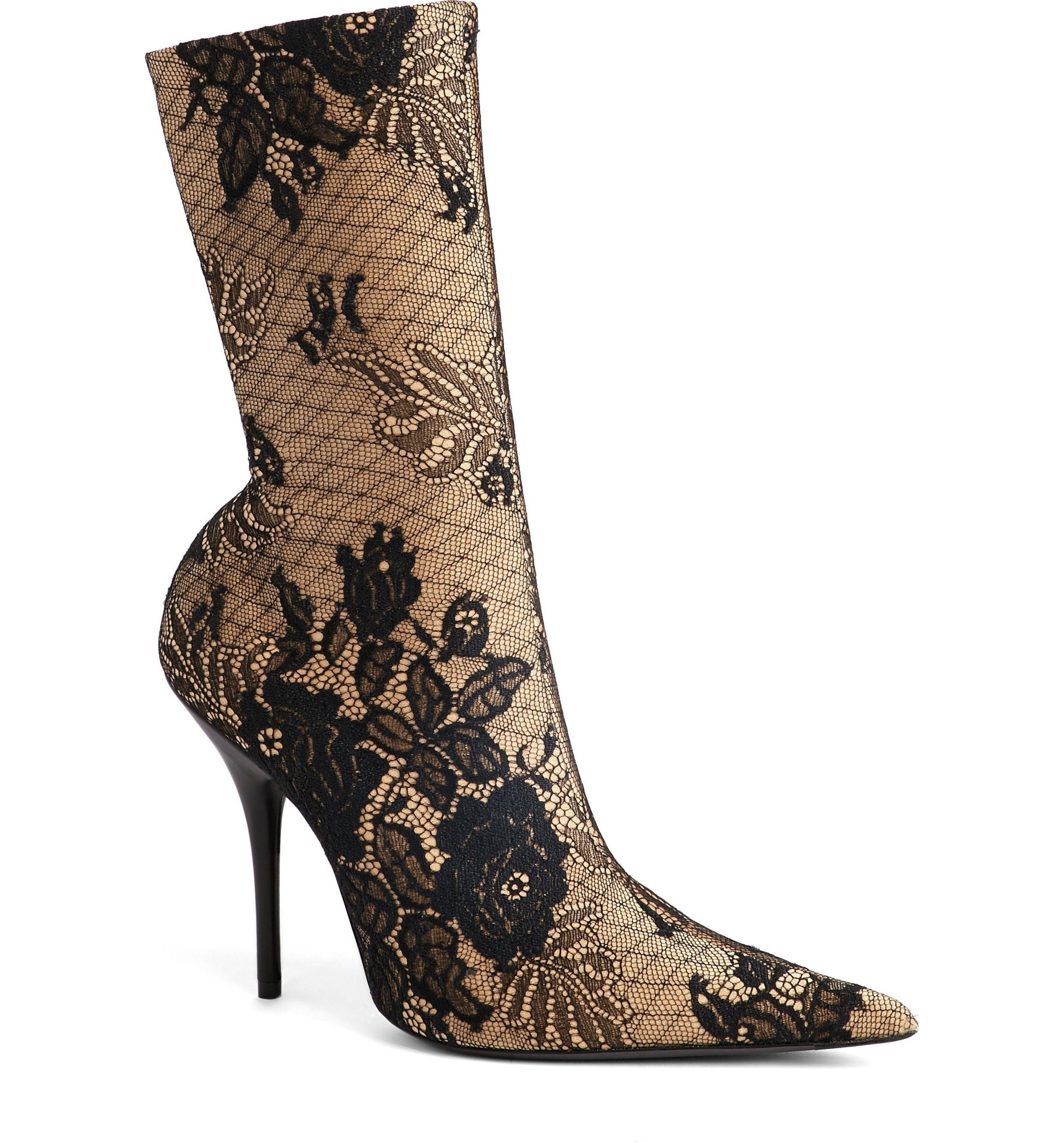 Balenciaga Women's Pointy Toe Bootie yaHBRc5Dn