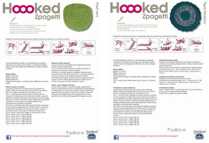 patron gratuit hoooked zpagetti | Crochet | Pinterest | Crochet ...