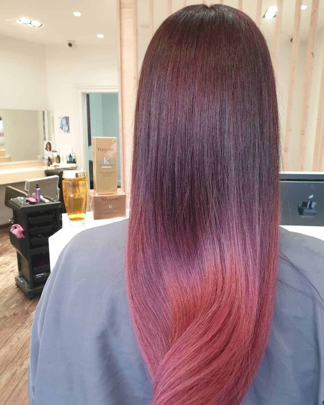 Joseph S Hair Salon On Instagram Perfection Colour Done By Helena Pink Ombre On Top Hairstyles Hairlo In 2020 Kerastase Hair Hair Styles Hair Treatment