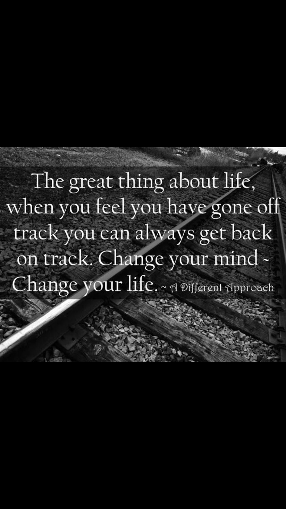 Get Back On Track Today Track Quotes Life Quotes To Live By Graduation Quotes Funny