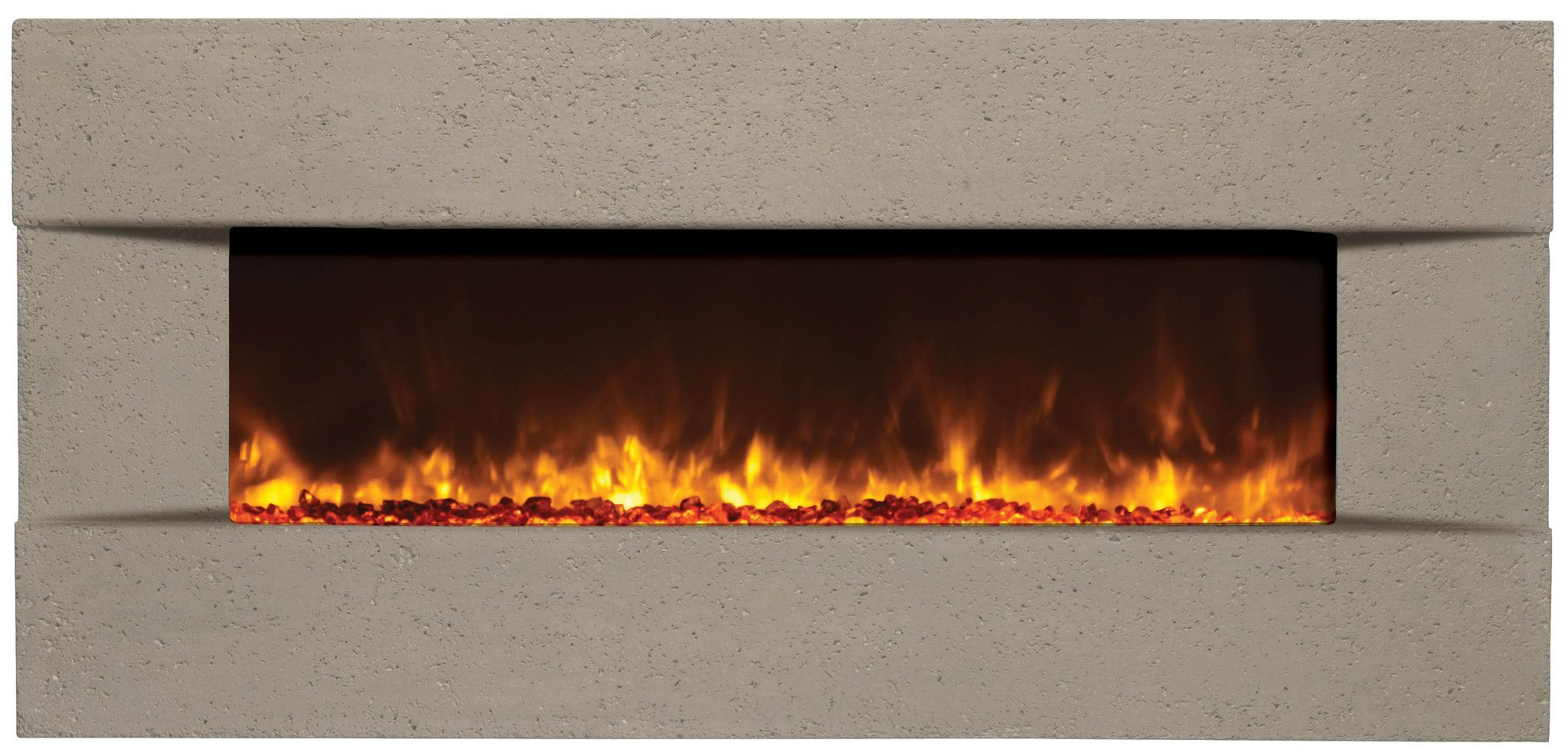 Amantii Built In Wall Mounted Electric Fireplace Artisan Blt