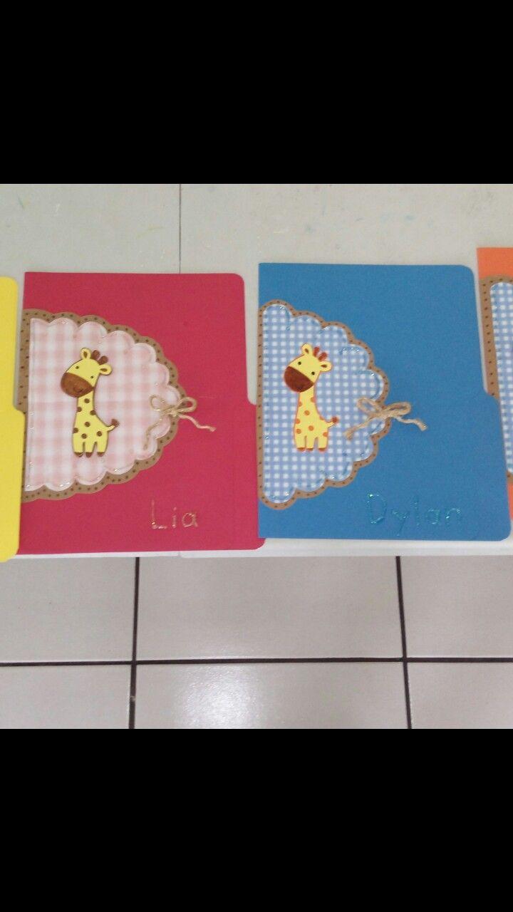 Folder para niños