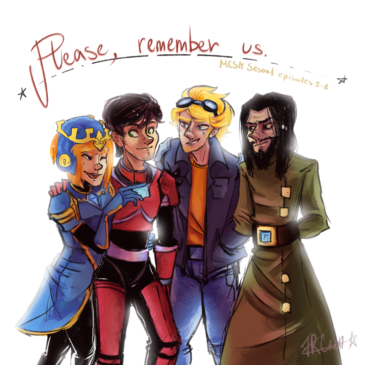 Fan Art Of Petra M Jesse Lukas And Ivor Love This Squad Ivor