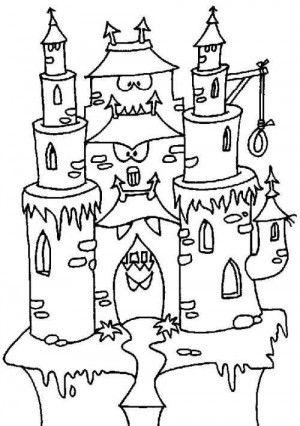 Castles coloring page 38 | Castles coloring book | Pinterest | Malen