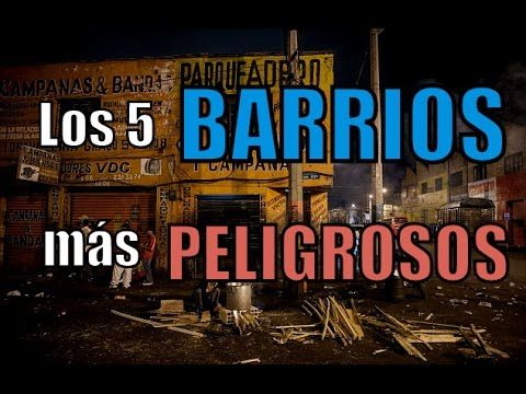 Los 5 barrios mas peligrosos - en Africa, Mexico, Honduras, Haiti y Honduras