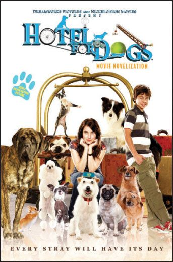 Hotel For Dogs Movie Novel Scholastic Book Club Jake T Austin