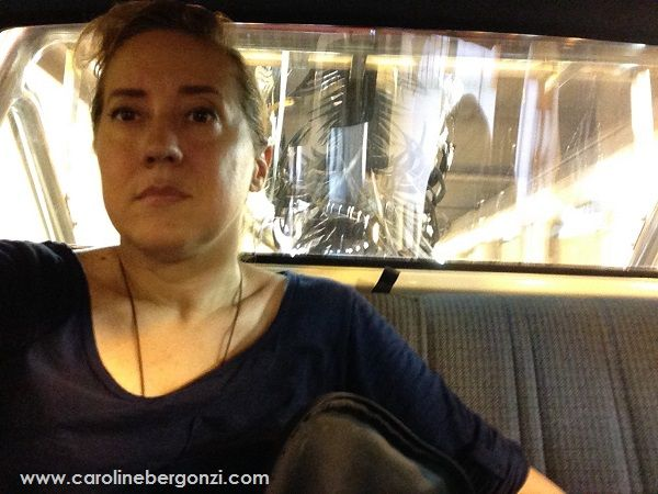 Art studio glimpse: #Welding through #CarolineBergonzi's eyes…   Ref. Photo: anxious in transport of the arts