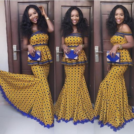 Latest Ankara Gown 2017 Sagnessé African Fashion Ankara Styles