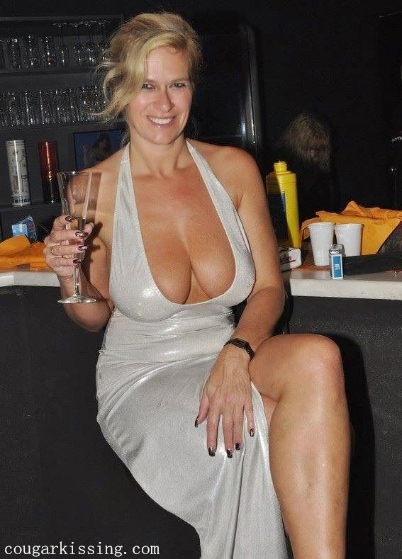 amateur blonde cougar MILF with amazing cleavage. Find this Pin and more on mature  women by alvinjone.
