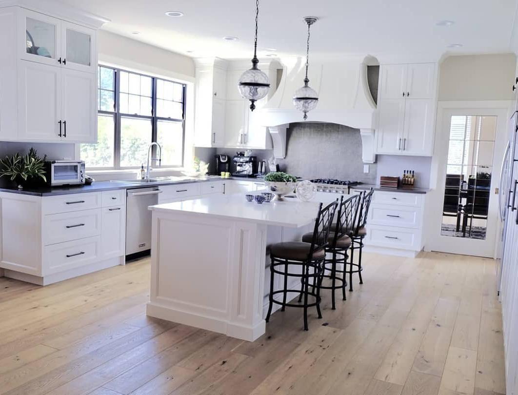 Best Modern White Kitchen Design Ideas Modern White Kitchens Best Backsplash For White Kitchen White K White Modern Kitchen Kitchen Design White Kitchen Design