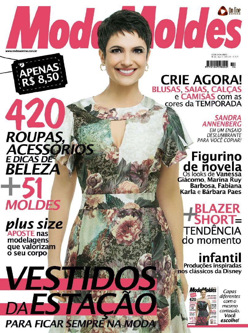c09b3bfae89 Revista Moda Moldes - Vestidos e Online