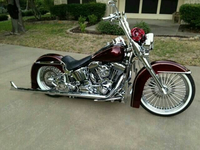 Beautiful Harley Softail Harley Bikes Softail