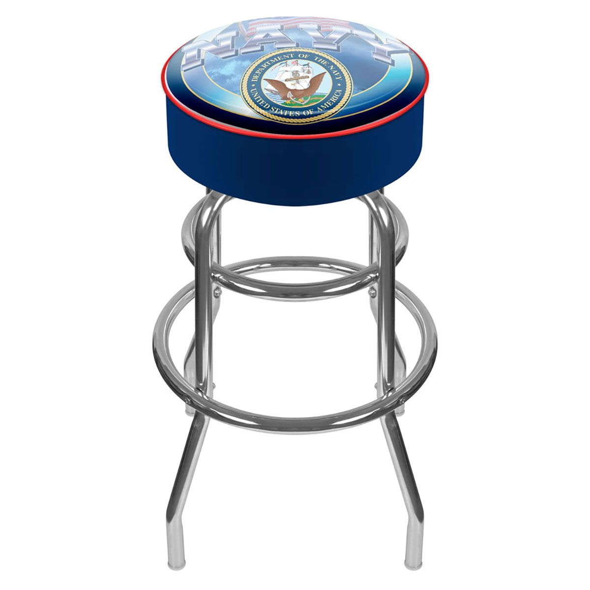 Us Navy Seal Military Logo Bar Stool Swivel Bar Stools Bar