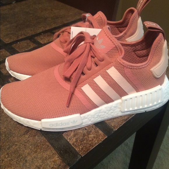 Women 's Adidas NMD R1 W PK Salmon Camo Pink US SZ 6, 6.5 and