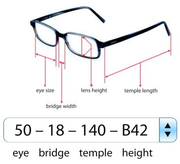 More Goes Into Your Pair Than Just The Prescription Know Your Size Information So That Your Glasses Arrive A Perf Eyeglasses Glasses Frames Eyeglasses Frames