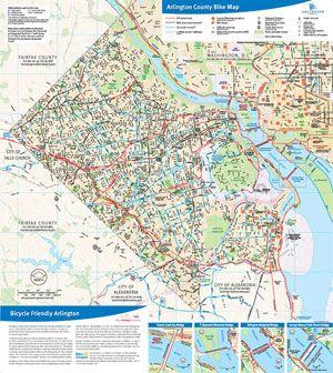 Map Of Arlington Va aeropilatesleon