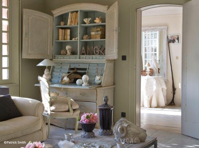 Idee Deco Salon Romantique Case Pinterest Salon - Decoration baroque romantique pour idees de deco de cuisine