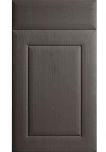 Best Opengrain Dark Grey Kitchen Cupboard Vinyl Wrapped Mdf 640 x 480