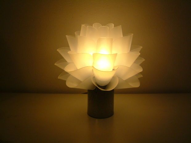 How to Make a Lotus Lamp (or a Copycat Version of Ikea Knappa Lamp)