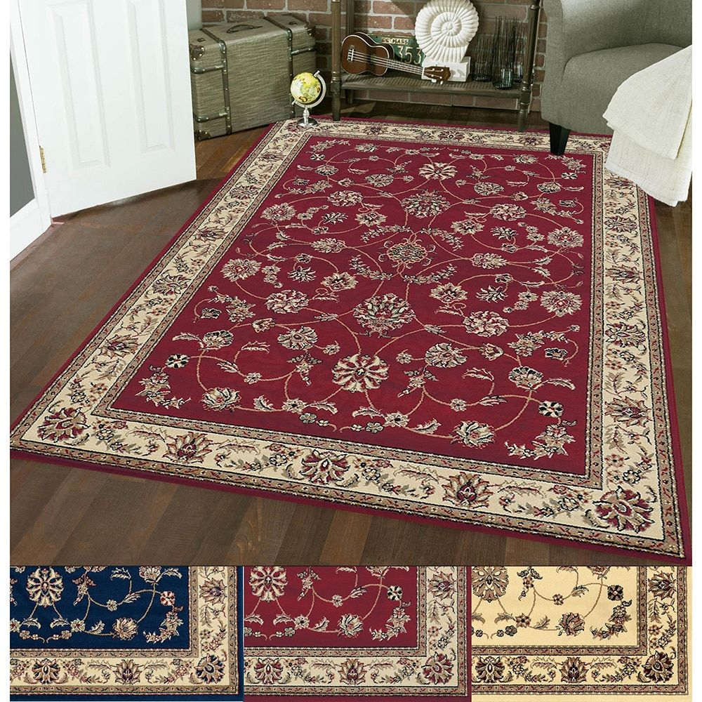 Admire Home Living Amalfi Flora Area Rug 14805900 Great Deals On