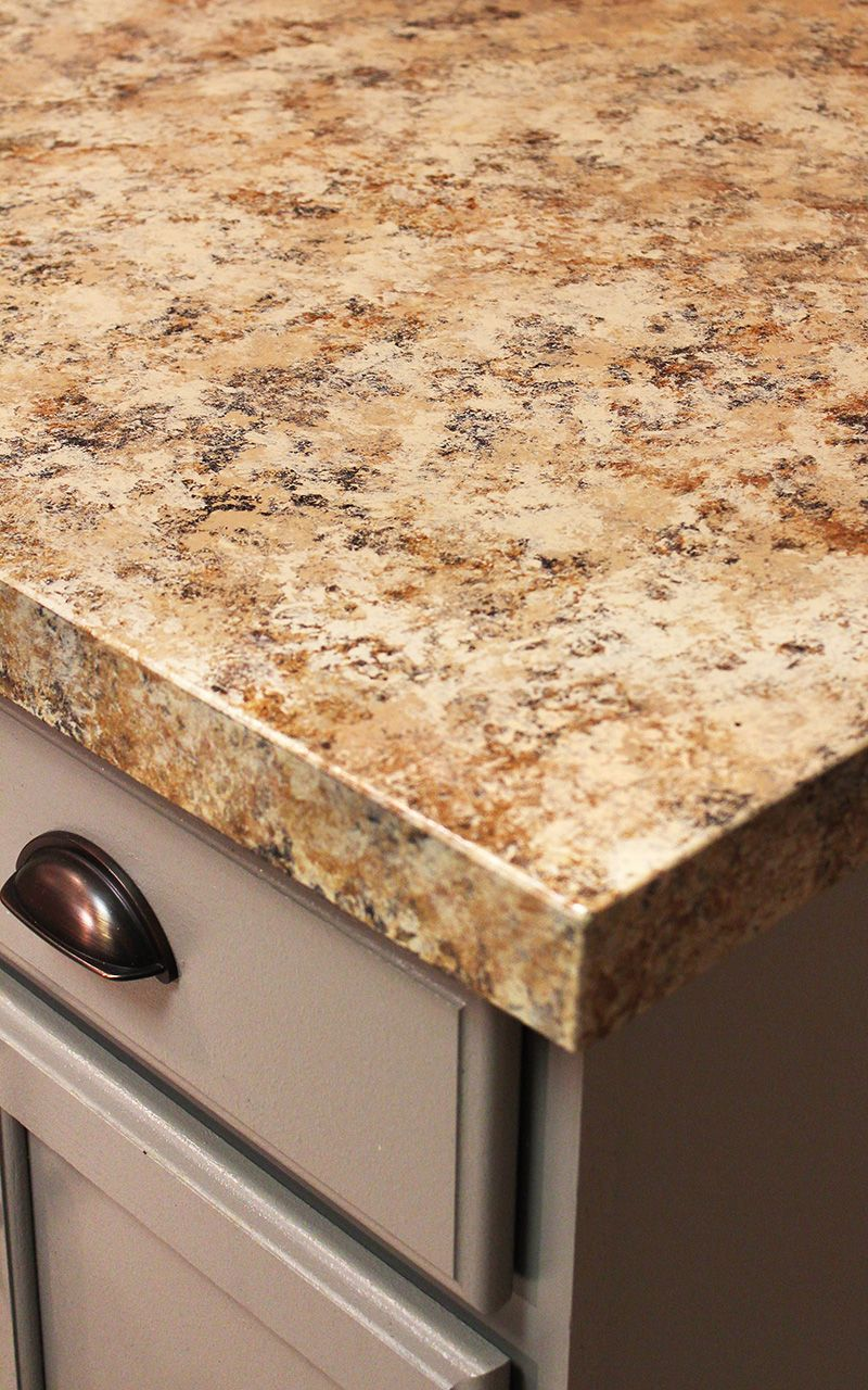 Kitchen Countertop Reveal Using Giani Countertop Paint Painting
