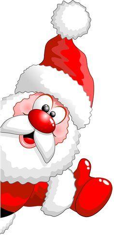 Christmas Humor Clip Art.Tubes Noel Pere Noel Christmas Printables Christmas