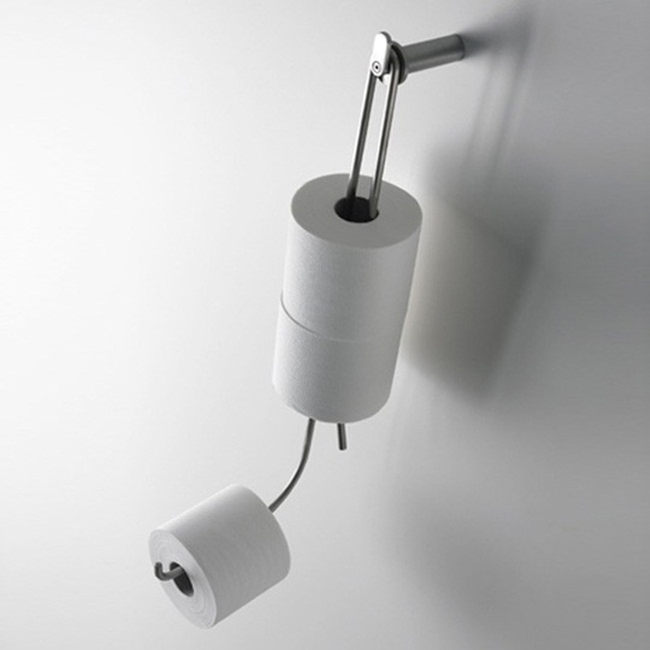 12 Fun Designs That Take Everyday Things To The Next Level Newslinq Toilet Paper Holder Toilet Paper Cool Toilets