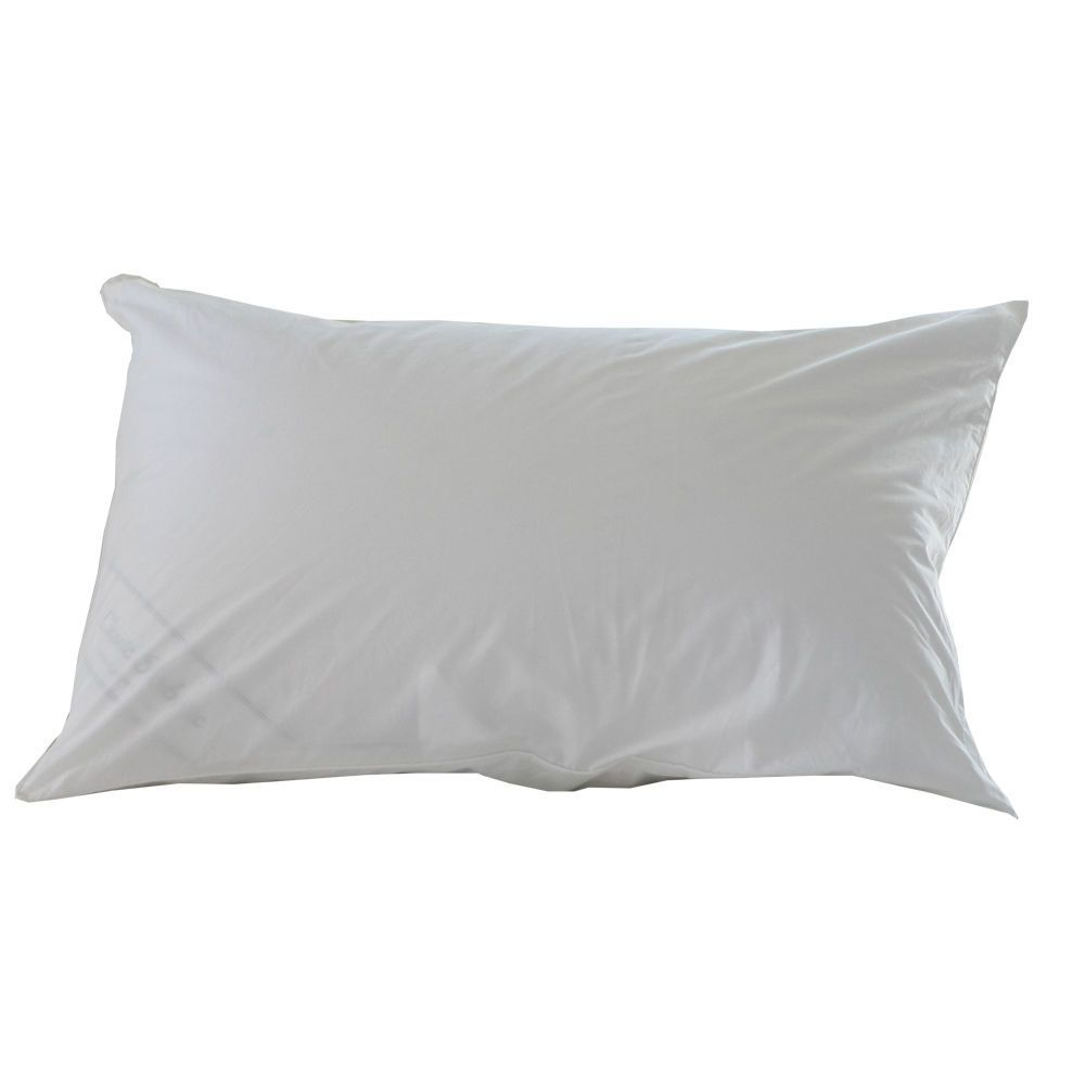 Clicfabric Pure White Pillow Cover Case Down Proof Esp For Feather 1p