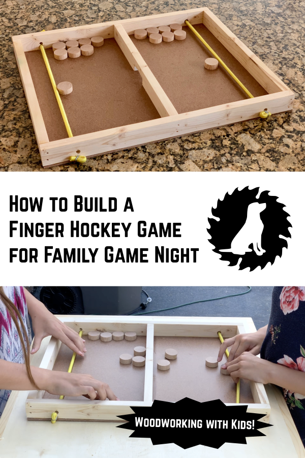 Diy Finger Hockey Game White Lab Workshop Easy Woodworking Projects Beginner Woodworking Projects Woodworking Plans Diy