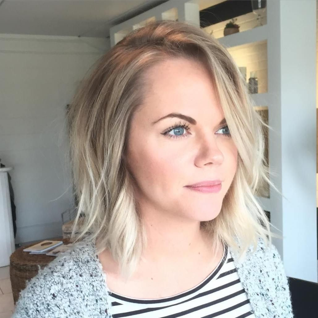 devastatingly cool haircuts for thin hair blonde bobs bobs and
