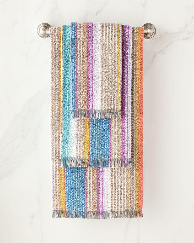 Vanni Bath Towel With Images Missoni Home Bath Sheets Hand