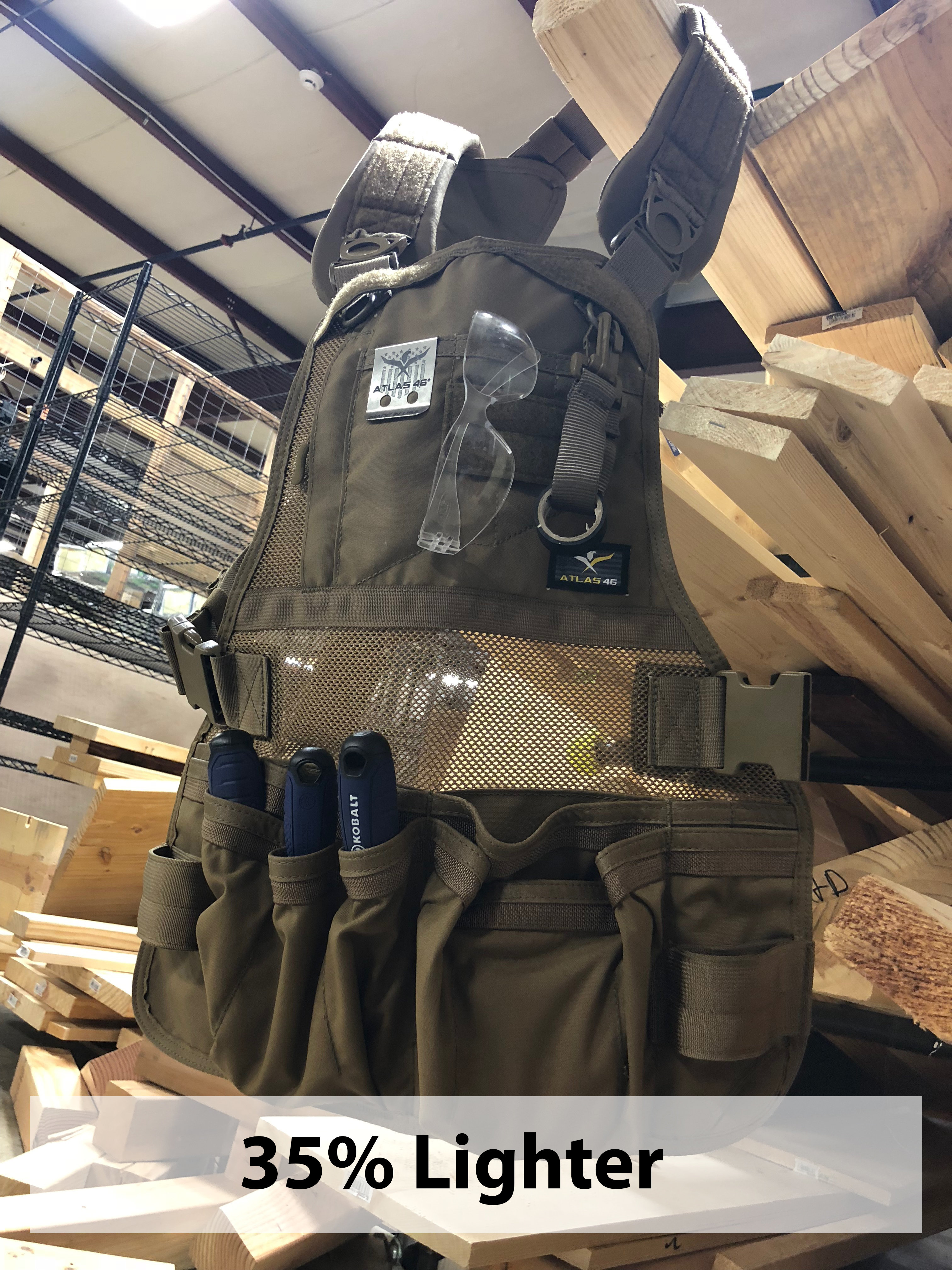 Check out the new Phoenix pro flex vest!!! Woodworking