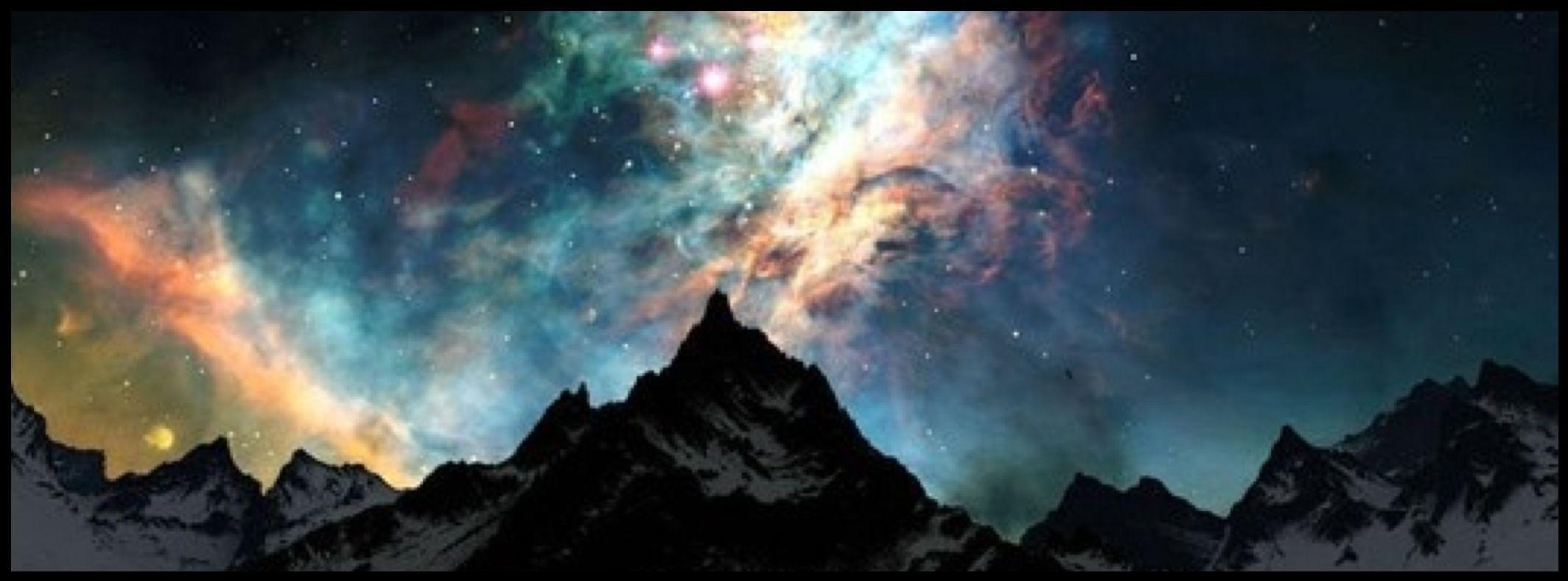 Alaska Sky, Northern Lights, Facebook cover photo Nature