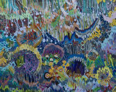 "Saatchi Art Artist Lia Porto; Painting, ""Sauce no llores (willow don't cry)"" #art"