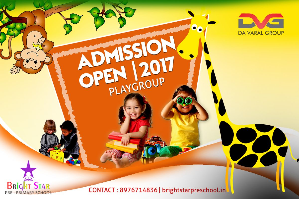 Assure your kids amazing future today by enrolling in 'Bright Star School'. Admission Open for Playgroup , Nursery, Jr. Kg. & Sr. Kg. HURRY UP!!! Playgroup Age bar minimum 2years.......... #events #eventdata #eventdesign #eventmanagement #sports #trainer #Sport #dance #music #consultant #smo #foryourbusiness #developwebapplication #improvesbusiness #playschoolatnalasopara #admission #admissionopen #kids #children #preschoolactivities #school #earlylearning #preschoolactivities #school…